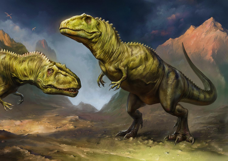 Jurassic Giants: Giganotosaurus - The Art of Eldar Zakirov